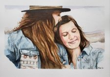 Casual Couple | Classy marriage portrait | Wedding Registry for Art