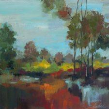 Hidden Pond Hues 2 | Artistic second marriage registry | Mishkalo Art Registry