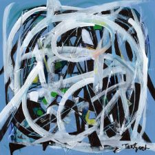 Inside Blue | Alternative gift | Wedding Registry for Art