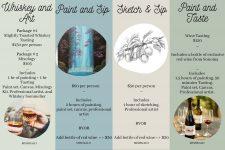 Paint & Sip Nights | Virtual Events | Team Building| Mishkalo