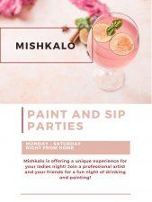 Ladies Night   Paint and Sip  Mishkalo