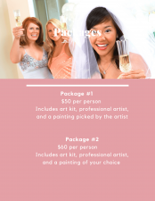Bridal Shower   Paint and Sip  Mishkalo