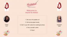 Monet painting  Wine tasting   Virtual team Building   Mishkalo