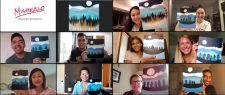 Virtual Paint & Sip | Wine And Art | Paint Nights | Mishkalo