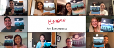 Mishkalo Art experiences   Paint and Sips   Virtual events