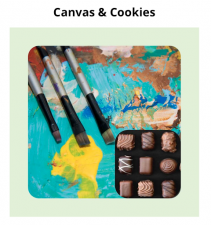 Cookies event| Paint and  Sips| Mishkalo